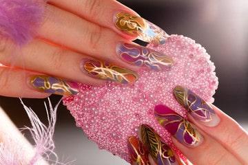 Que son uñas esculturales