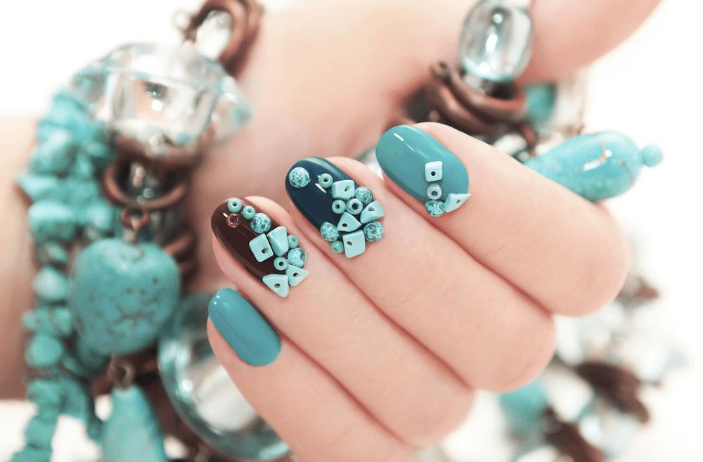 Diseños de uñas esculpidas