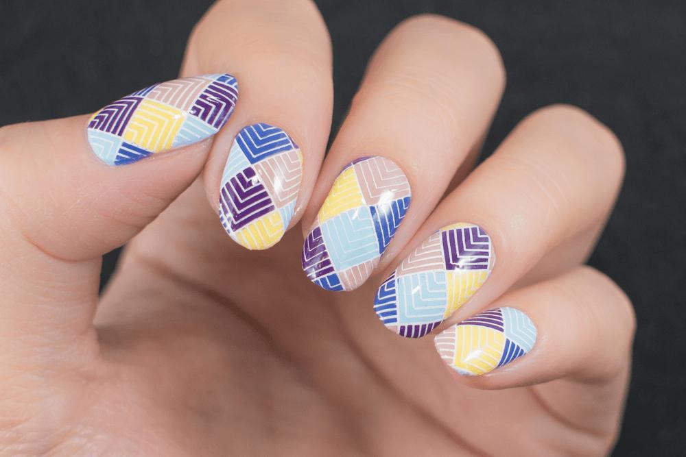 Diseños de uñas acrilicas
